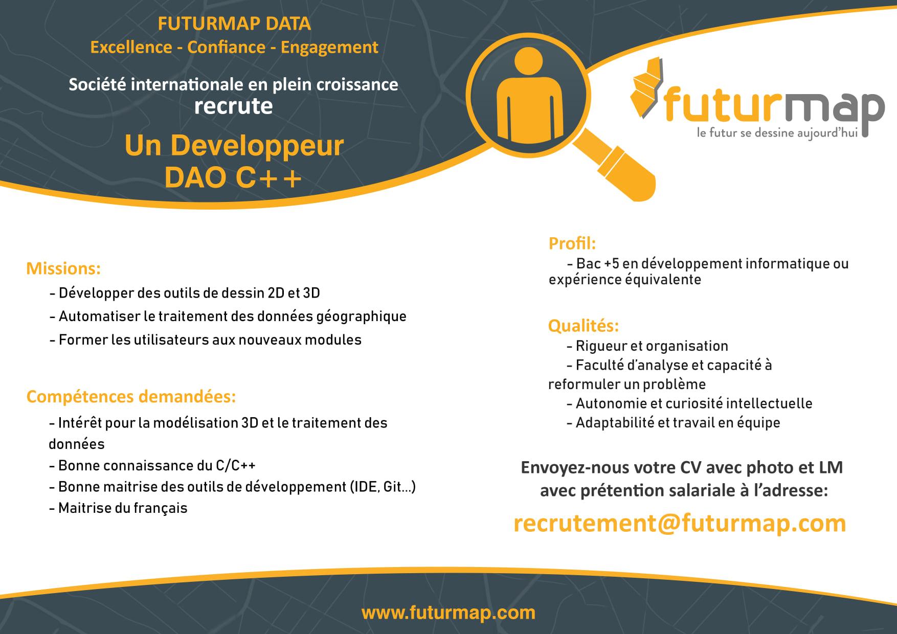 Développeur DAO C++